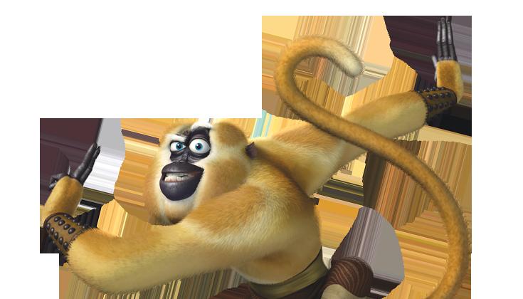 Kung fu panda 2 monkey